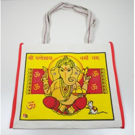 Sac Shopping yellow Ganesh